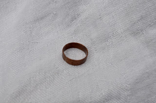Small copper ring from Telluride, Colorado needs a home