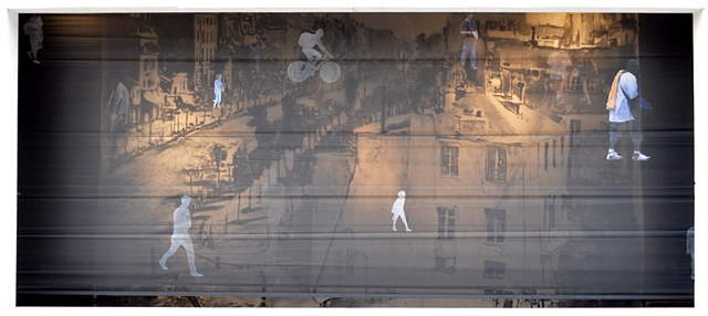 PARTICIPATE: Boulevard du Temple/Broad Street Screen detail