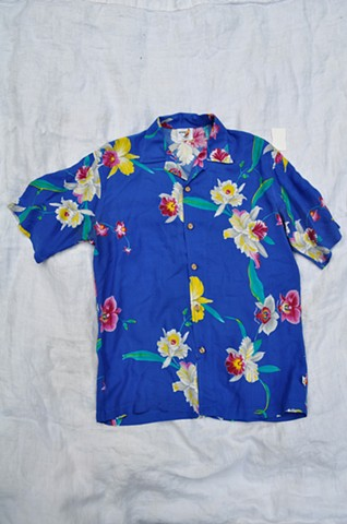 Hawaiian shirt from Las Vegas, Nevada (adopted by Seth in Oakland)