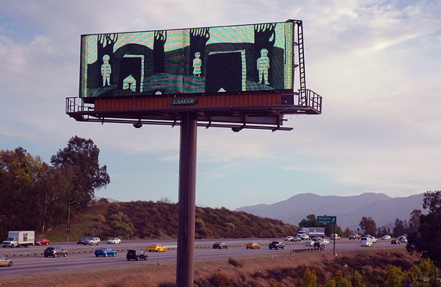 Corona Billboard Art Project