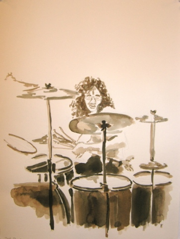 """Deep Purple Drummer"""