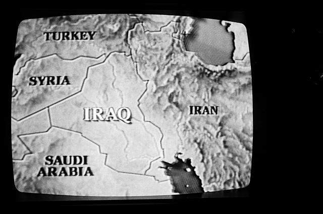 TV image 1991 gulf war