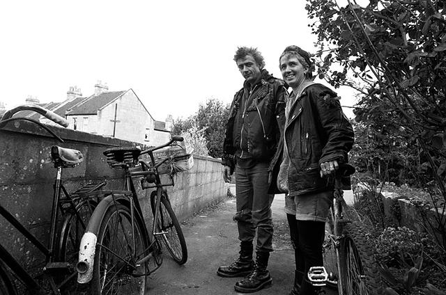 Pete and Paula Bath, England 1995