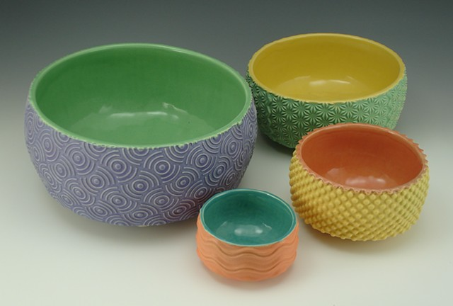 Nesting Bowls un-nested