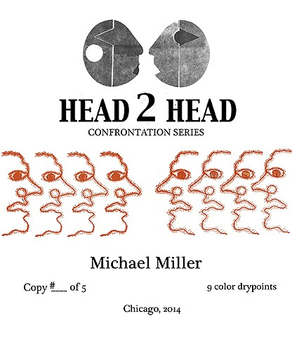 Head 2 Head- Confrontation Series Colophon page