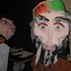 Giant Puppets for Purim Celebrations at Beth Israel