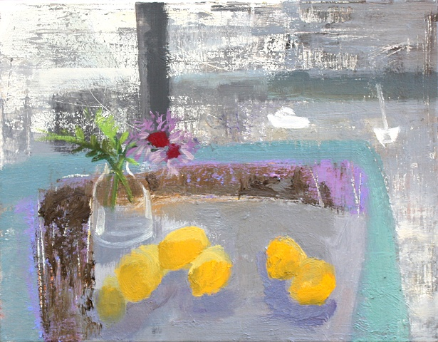Lemons on the Island Table