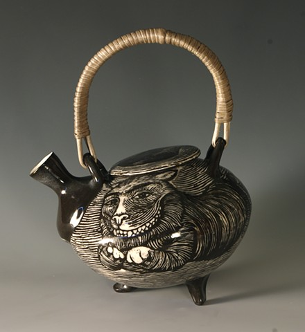 Teapot (from Tea Service for Kings of the Subconscious)  alternate view