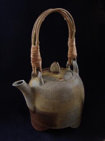 Teapot with Wild Grape Handle