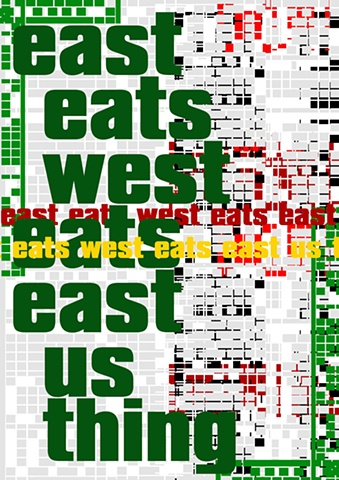 east east west eats east us thing