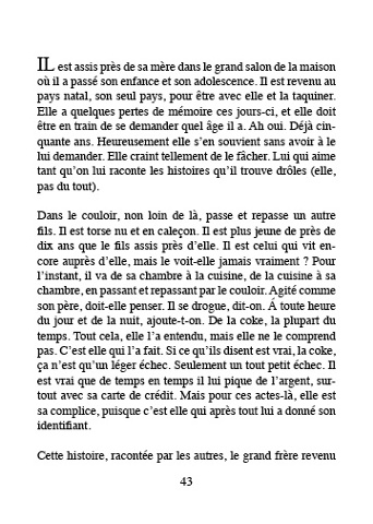 "original French text of ""The Woman The President Insulted""  by Alain Volny Anne"