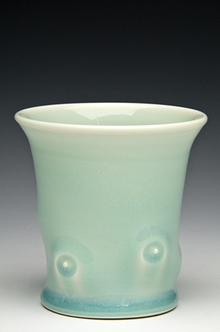 porcelain tumbler