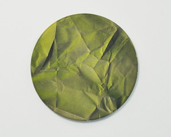 Untitled (green circle)