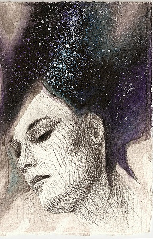 Girl with Stars in her Hair 6