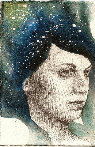 Girl with Stars in her Hair 8