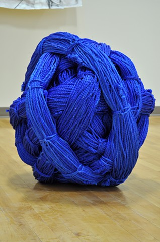 "1/4"" x 10,000 ft. Blue Poly Rope, Wound"