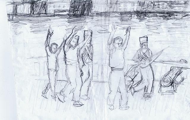 redcoats sketch