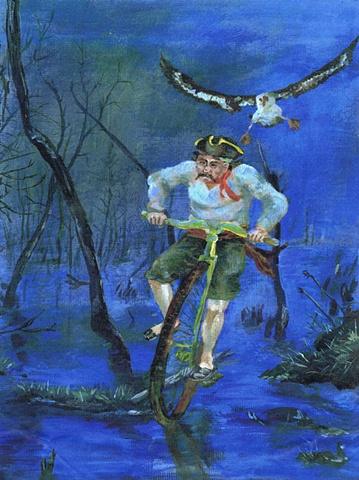 Swamp pirate
