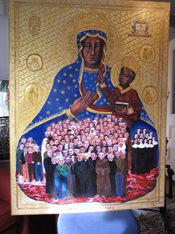 Polish Martyrs of WWII Icon