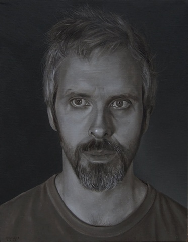 Grisaille Self Portrait
