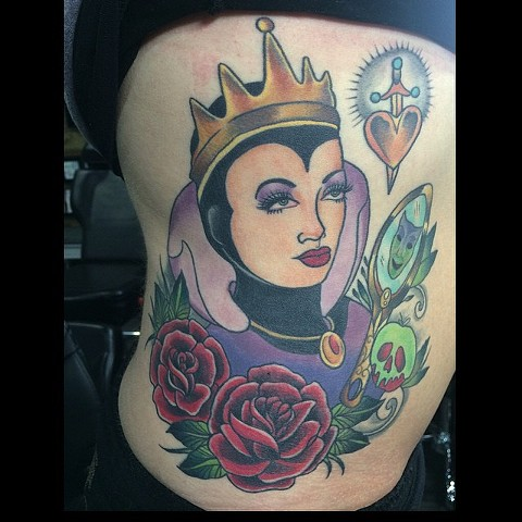 Evil Queen rib piece- HEALED