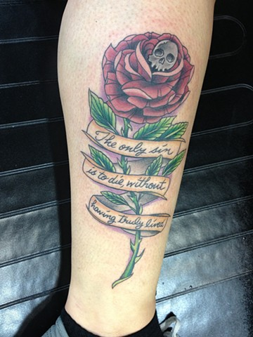 Afi/Tiger Army themed rose