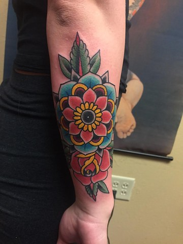 Mandala Rose