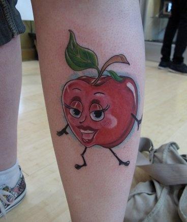 Dancing apple!