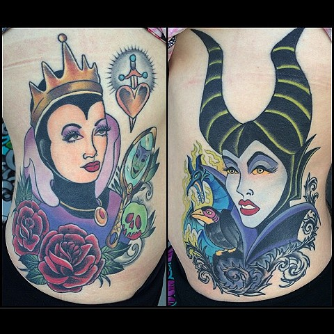 Healed and fresh villains rib pieces