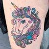 Fresh Lisa Frank style unicorn!