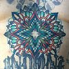 Mandala, (other tattoos not by me)