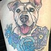In memory of her pup