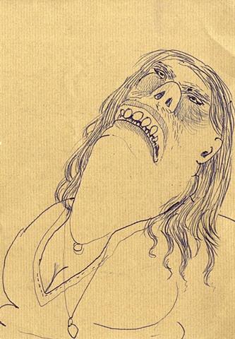 Self Portrait as Agonized Bumpkin