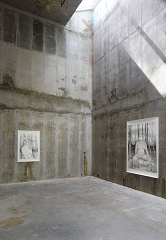 """Installation View, Gasser Grunert, """"Where I Have Lived and What I Live For"""""""