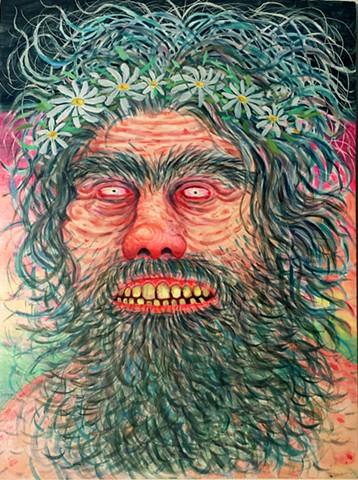 Hippie Witch Man