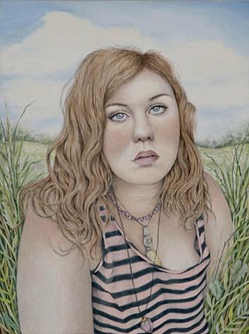 Summer Self- Portrait