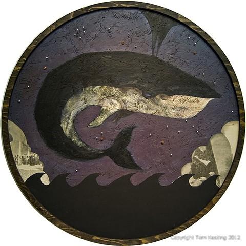 tom keating ol tommy keats nautical deep sea diver deeper still brooklyn new york art artist portland wayfarers