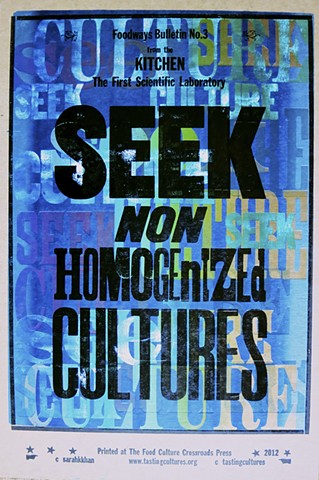 Seek Non-Homogenized Cultures