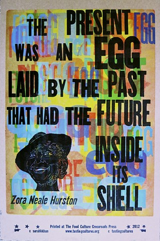 The Present Was An Egg...Zora