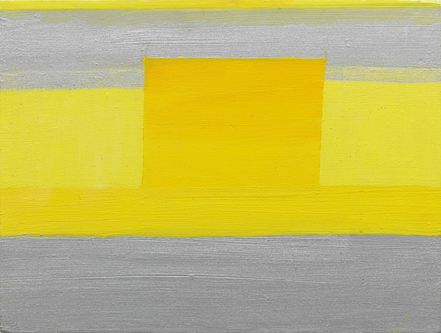 Untitled (No. 1) Silver and Lemon