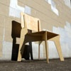 Flat Pack Elephant Chair Prototype