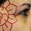 Lotus and swastika scarification