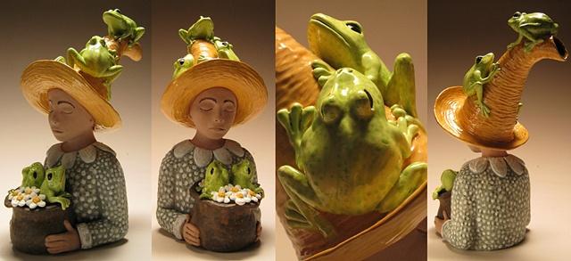 Frog Prince (non functional teapot).