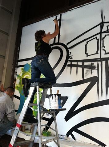 Strand Bookstore Mural:  Community Building Panel Process #1