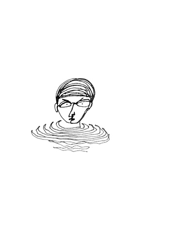Angry Swimmer