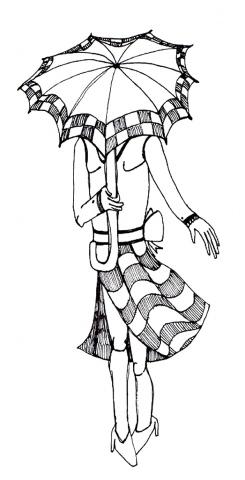 Umbrella Face #1