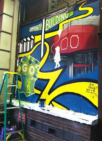 Strand Bookstore Mural: Community Building Panel Process #3