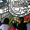 Strand Bookstore Mural:  Literacy Panel Process #4
