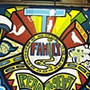 Strand Bookstore Mural:  Family Panel Process #8