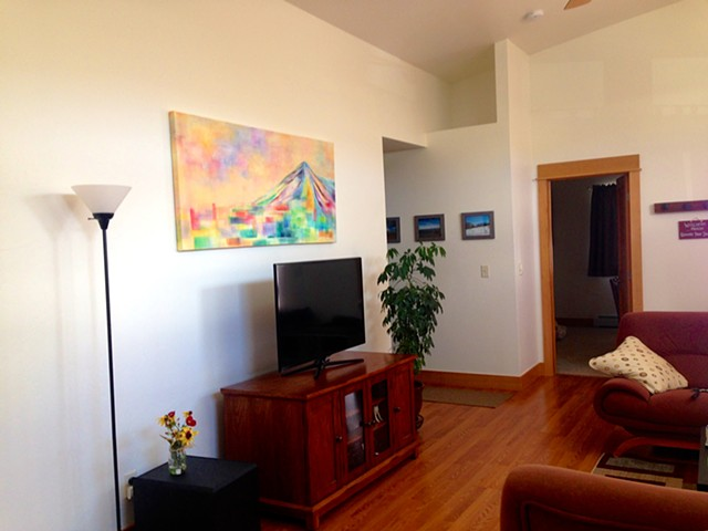 Commissioned Painting for Private Retreat in Salida, Colorado